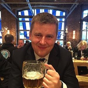 Tomáš Petříček po fotbale na pivu