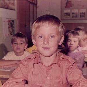 Tomáš Petříček ve škole