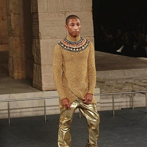 Pharrell Williams na přehlídce Chanel
