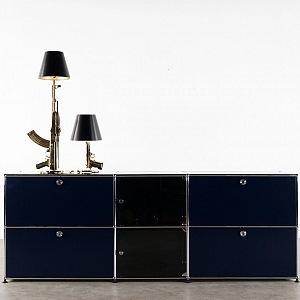 Philippe Starck gun lamp for flos