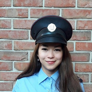 Jana Macháčková, česko-vietnamská policistka