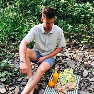 Oliver Pape má rád vaření v přírodě.