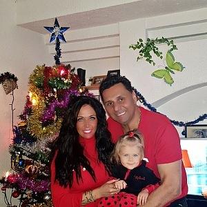 Měli malou krizi, ale Vánoce už opět trávila rodina společně.