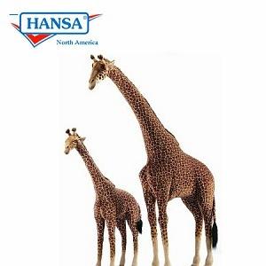 Obří žirafy značky Hansa