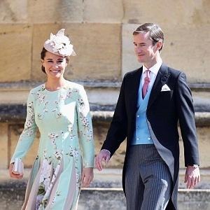 Pippa Midleton with husband