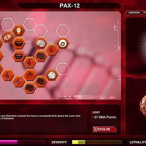 Ve hře rozhodujete o mutacích viru a jeho schopnostech šířit se a zabíjet.