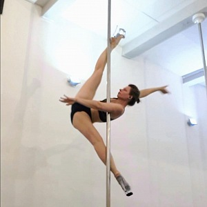 Gaia likes pole dance.