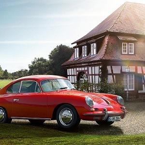 Luxusní vintage vozy Porsche