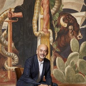 Portrét slavného návrháře, Christian Louboutin