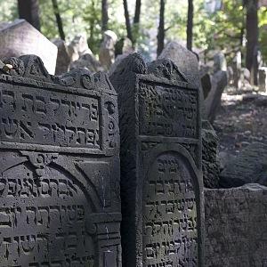 Jewish cemetery, Josefov