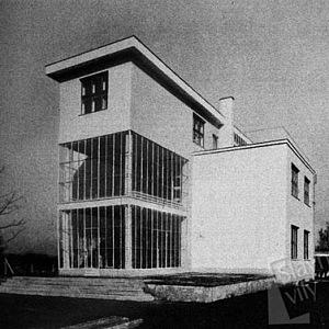 Vila Františka Strnada, boční část domu