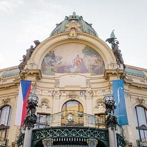 Obecní dům rozezněla Má vlast od Beřicha Smetany.