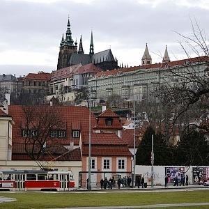 Pražský hrad z Klárova