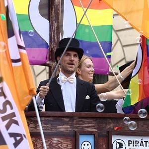 Hřib podporuje homosexuály.