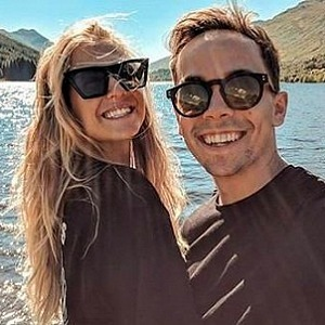 With her boyfriend Petr Lexa