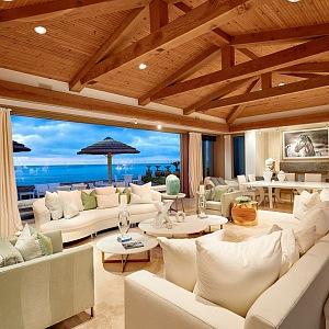 Bill Gates a jeho vila na pláži