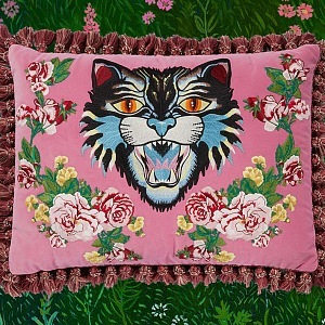 Dekorativní polštář Gucci - Angry Cat