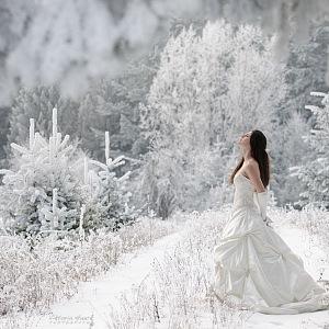 Luxusní bílá svatba