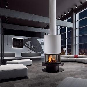 Fireplace by Rubivia