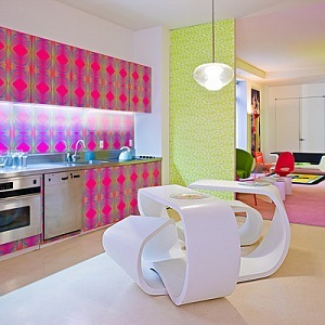 Interior in New York, Karim Rashid