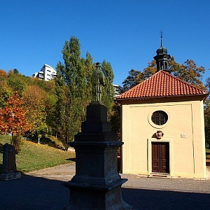 Radlice - Kaple sv. Jana Nepomuckého