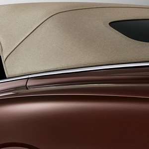 Bentely Continental GT Convertible 2019, the roof
