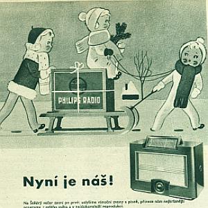 Reklama rádio Phillips