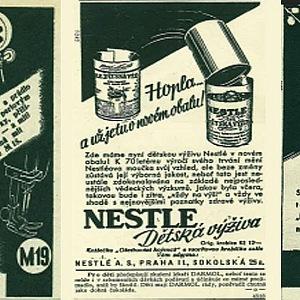 Minerva, Nestlé a čajový margarín SANA