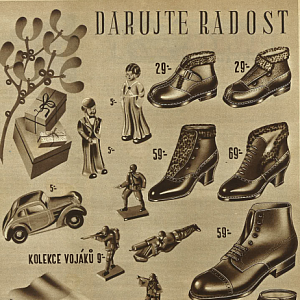Reklama Baťa 1937