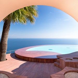 Pierre Cardin a jeho vila poblíž Cannes