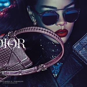 Rihanna, campaign for Dior, Secret Garden 2015
