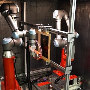 Robotický skener.