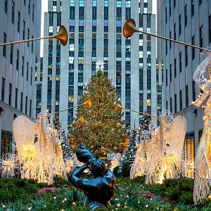 Rockefller Center, vánoční strom