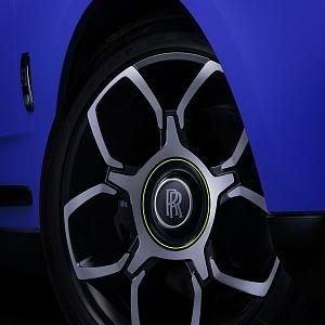 Rolls-Royce detail pneumatiky