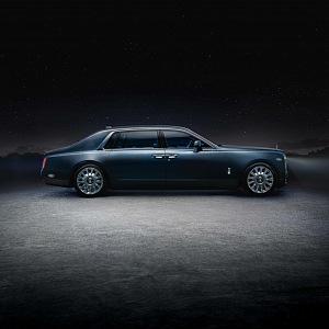 Rolls-Royce Phatom Tempus, pohled z boku