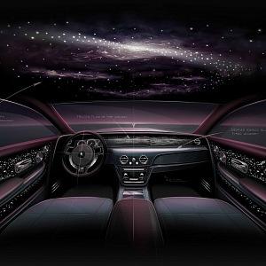 Rolls-Royce Phatom Tempus, interiér