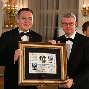 Roman Šmucler a ministr Karel Havlíček
