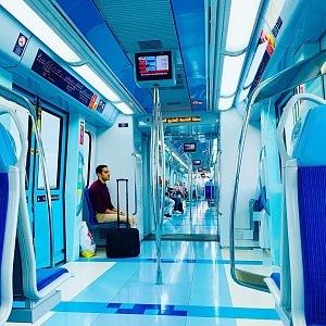 Vlaky v Dubaji jsou ty nejmodernější na světě.