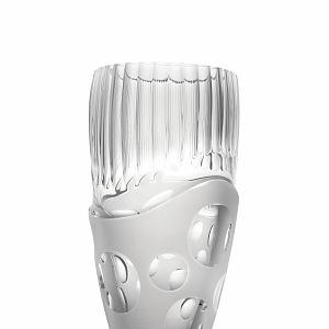Ručně broušená váza, designer Jabůrek 2011