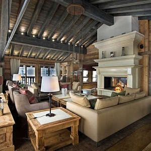 Chalet v Courchevel