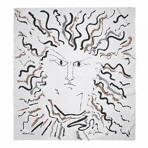 Silk scarf Jean Cocteau