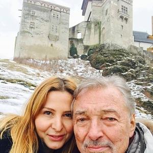 S manželkou Ivanou