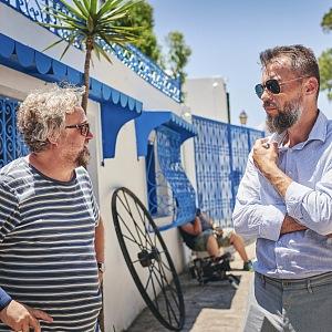 S režisérem Janem Hřebejkem.