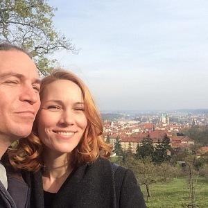 Ivan Bartoš s manželkou Lydií.