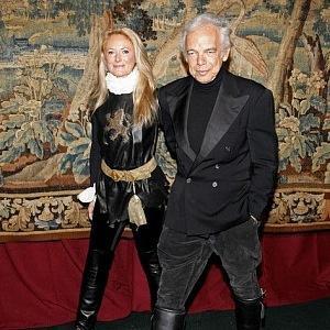 Ralph Lauren s manželkou