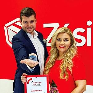 Kijonková s ředitelem marketingu Milanem Šmídem.