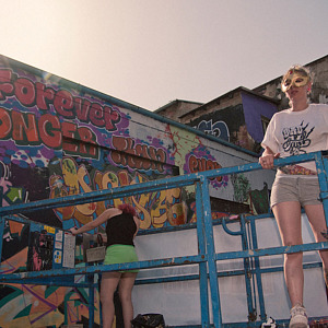 Sany made a film about women realizing in graffiti.