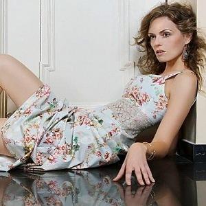 Zuzana was a model too
