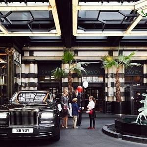 Savoy London, vstup