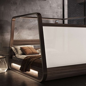 Chytrá postel s projektorem